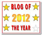 Blog of the Year Award 5 star thumbnail